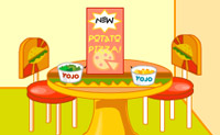 Play Pizza and Hamburger D�cor on Perro-Electric.Com