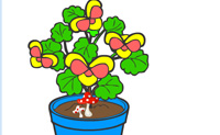 Play Colour the plant game on Perro-Electric.Com