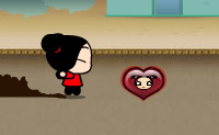 Play Pucca Pursuit game on Perro-Electric.Com