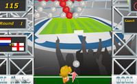 Play Football Bubble game on Perro-Electric.Com