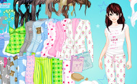 Play Pyjama Girl Dress up game on Perro-Electric.Com