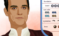 Play Make-up Robbie Williams on Perro-Electric.Com
