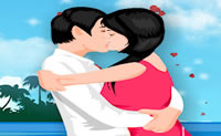 Play Romantic Kissing game on Perro-Electric.Com