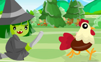 Play Run Chicken Run game on Perro-Electric.Com