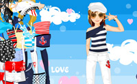 Play Dress Up Sailing Girl game on Perro-Electric.Com