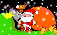 Play Santa Claus Painting on Perro-Electric.Com