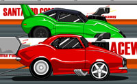 Play Santa pod racer game on Perro-Electric.Com