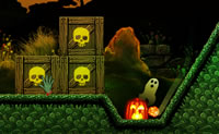 Play Scary Cannon game on Perro-Electric.Com