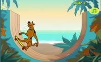 Play Scooby Doo Big Air on Perro-Electric.Com