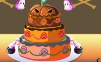 Play Halloween cake on Perro-Electric.Com