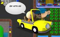 Play Sim Taxi - Lotopolis City game on Perro-Electric.Com