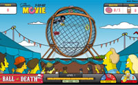 Play Simpsons Ball Of Death game on Perro-Electric.Com
