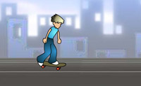 Play Rooftop Skater 3 on Perro-Electric.Com