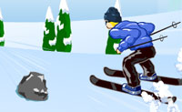 Play Skiing Dash game on Perro-Electric.Com