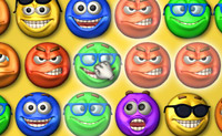 Play Smiley Bejeweled game on Perro-Electric.Com