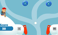 Play Snowball pinball on Perro-Electric.Com