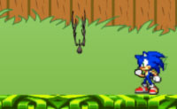 Play Sonic in Garden game on Perro-Electric.Com