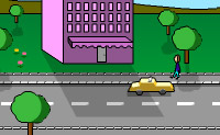 Play Super Taxi on Perro-Electric.Com
