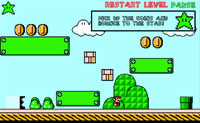 Play Super Mario Bounce game on Perro-Electric.Com