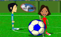 Play 1 on 1 Soccer 2 on Perro-Electric.Com
