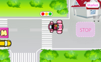 Play Susan's First Driving Day game on Perro-Electric.Com