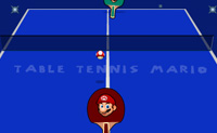 Play Table Tennis Mario on Perro-Electric.Com