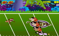 Play Taz Rugby game on Perro-Electric.Com