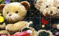 Play Teddy Bear Puzzle game on Perro-Electric.Com