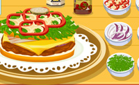 Play Tessa's Hamburger game on Perro-Electric.Com