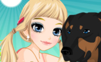Play Tessa's New Pet on Perro-Electric.Com