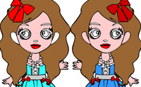 Play Online Coloring Twins on Perro-Electric.Com