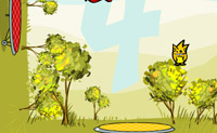 Play 2 Trampolines game on Perro-Electric.Com