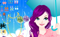 Play Dress Up Umbrella Girl game on Perro-Electric.Com