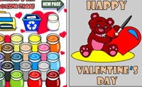 Play Valentine Coloring on Perro-Electric.Com