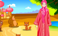 Play Warda at the zoo on Perro-Electric.Com