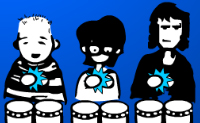 Play Drums 3 game on Perro-Electric.Com