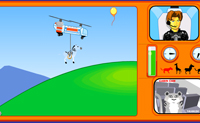 Play Zoo Copter on Perro-Electric.Com